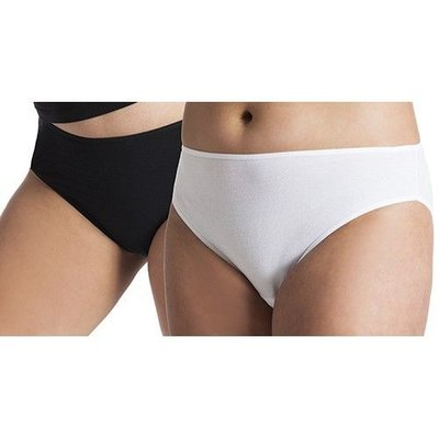 UnderWunder Women Bikini briefs black/white (price per 2)