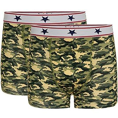 UnderWunder Boys boxer camouflage (price per 2)