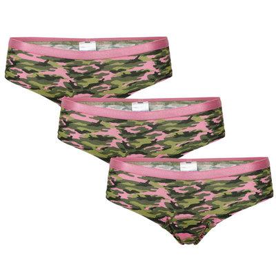 UnderWunder Meisjes Slip, camouflage (setprijs)