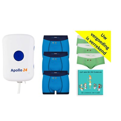 Apollo 24 Apollo 24 daytime alarm and 2 sensor briefs