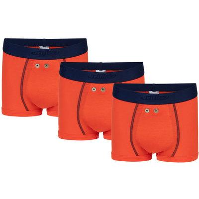 Urifoon Sensorbroek Jongen (set van 3), oranje