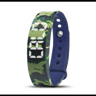 Reminder watch U15, blue camouflage