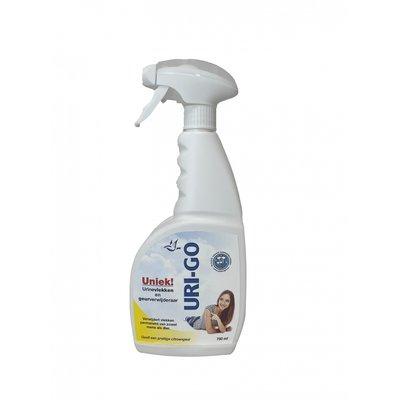 Uri-Go urinegeur verwijderaar sprayfles