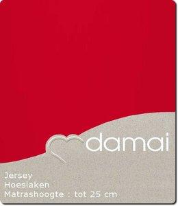 Damai Hoeslaken Double Jersey Red