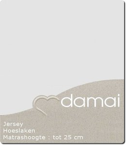 Damai Hoeslaken Double Jersey Light Grey