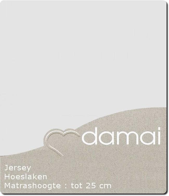 Damai Hoeslaken Double Jersey Light Grey