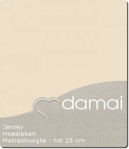 Damai Hoeslaken Double Jersey Silversand