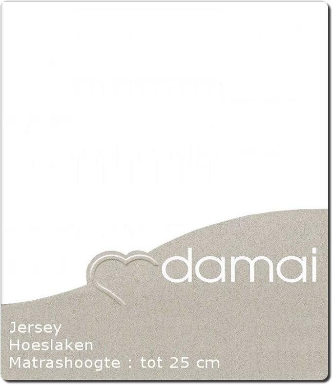Damai Hoeslaken Double Jersey White