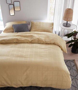 Beddinghouse Dekbedovertrek Rain Gold 200 x 200/220