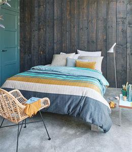 Beddinghouse Dekbedovertrek Linee Blue