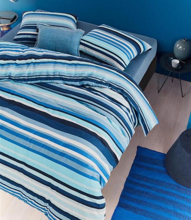 Beddinghouse Dekbedovertrek Loiz Blue