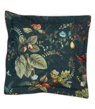 Pip Studio Sierkussen Fall in Leaf Dark Blue 45 x 45 cm