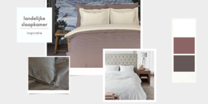 Stylingtips landelijke slaapkamer