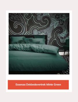 Essenza dekbedovertrek Minte Green
