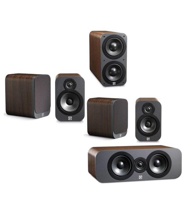 Q Acoustics 5.1 3020 speaker set