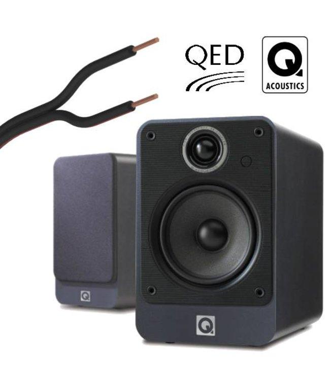 Q Acoustics 2020i + QED Precision Performance (10 m)