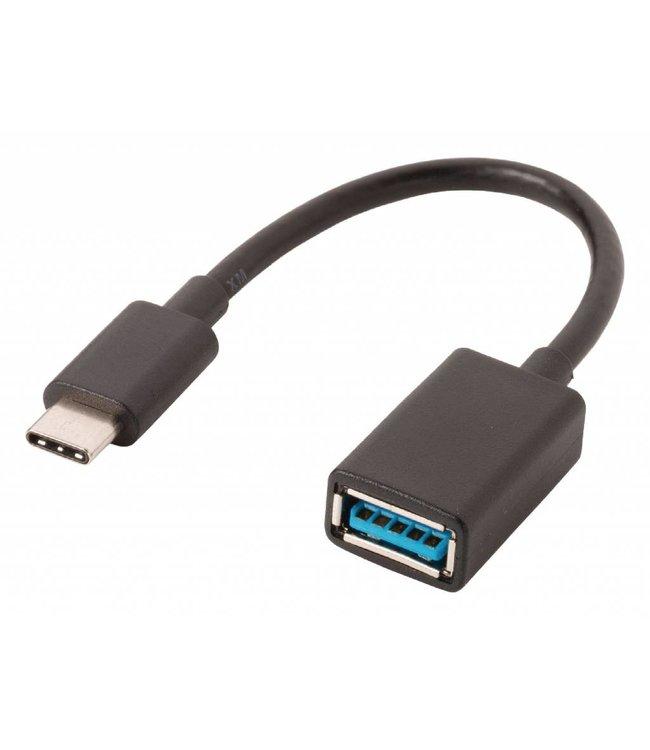 Valueline USB 3.0 Kabel - USB-C Male > USB-A Female