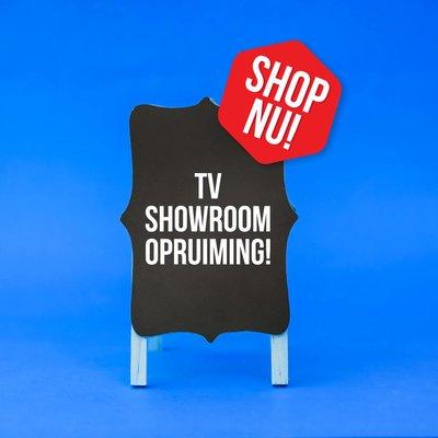 Showroom opruiming!