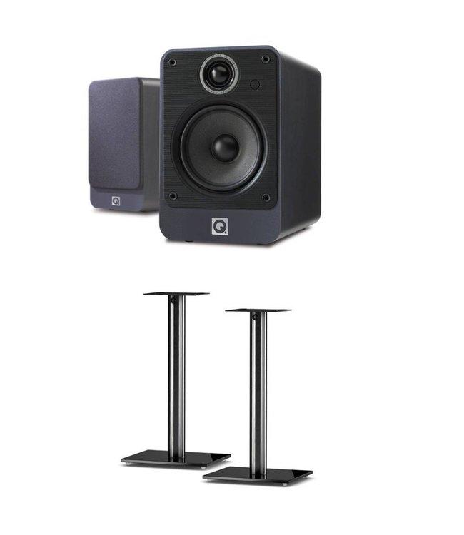 Q Acoustics 2020i + SP100 stands
