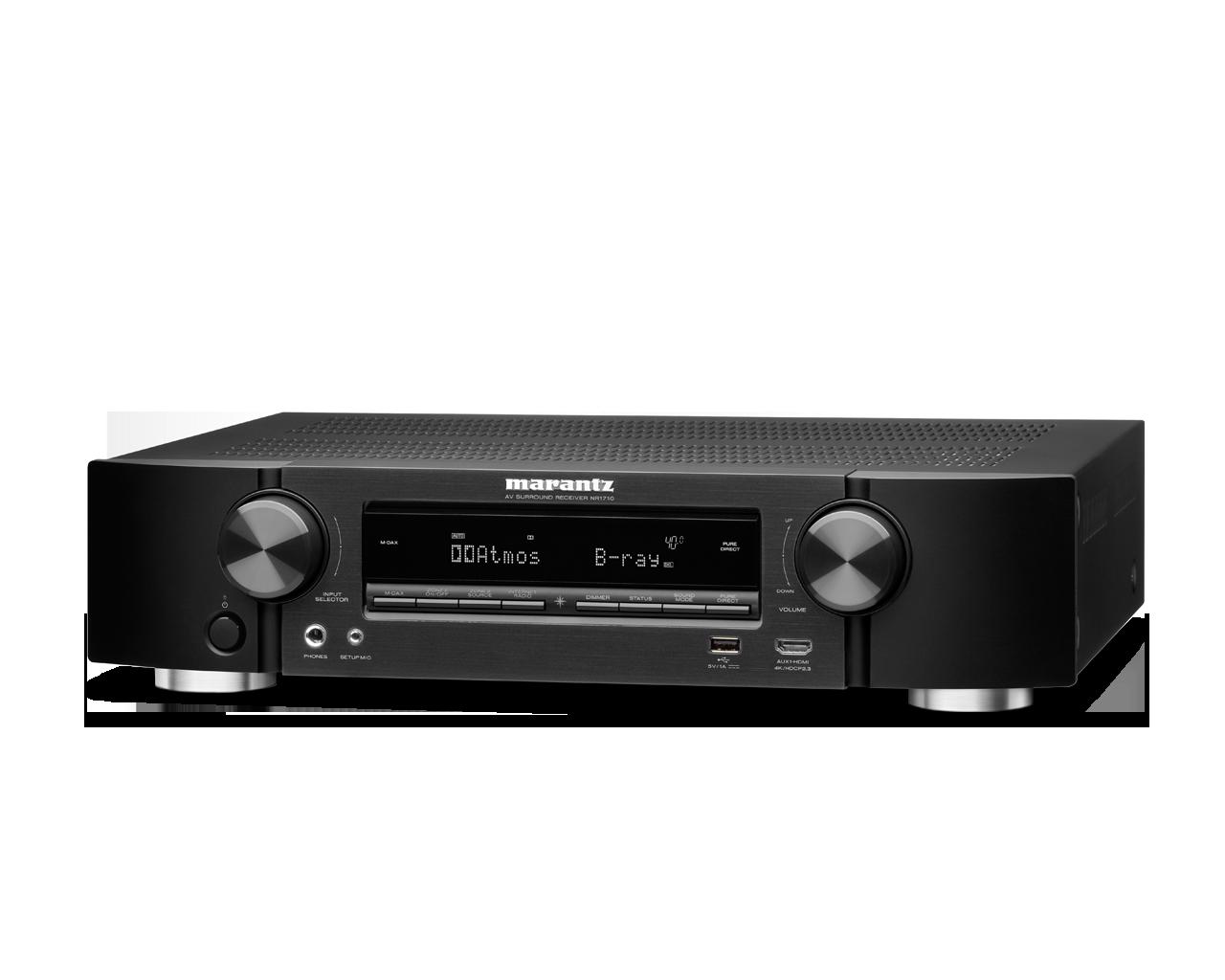 Marantz lanceert nieuwe Slim-line AV Netwerk receivers