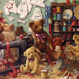 Cobble Hill Cobble Hill Teddy Bear Workshop (275 XL stukjes)