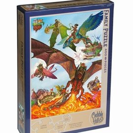 Cobble Hill Cobble Hill puzzel Dragon Flight (400 XL stukjes)