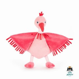 Jellycat Flapper Flamingo Soother 23 cm.