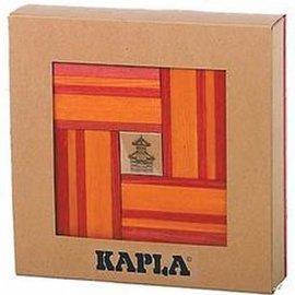 Kapla Kapla 40 doos oranje/rood met boekje