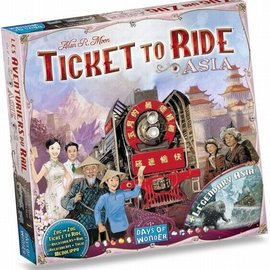 Days of Wonder Ticket to Ride Asia (uitbreiding)