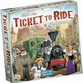 Days of Wonder Ticket to Ride Germany