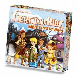 Days of Wonder Ticket to Ride Mijn eerste reis - NL