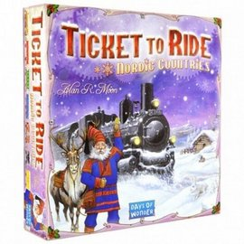 Days of Wonder Ticket to Ride Nordic Countries (stand alone)
