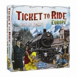 Days of Wonder Ticket to Ride Europe (basis spel)