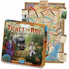 Days of Wonder Ticket to Ride Africa (uitbreiding)