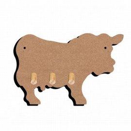 Sleutelbord koe