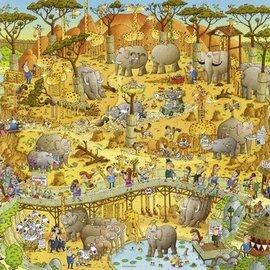 Heye Heye African Habitat (1000 stukjes)