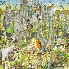 Heye Heye puzzel Jurassic Habitat (1000 stukjes)