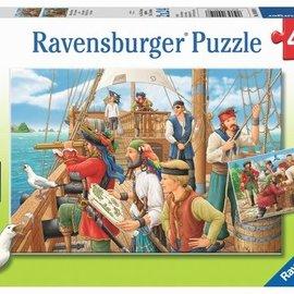 Ravensburger puzzel Bij de piraten