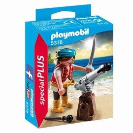Playmobil Playmobil - Piraat met scheepskanon (5378)