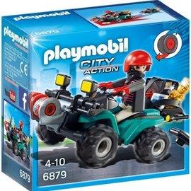 Playmobil Playmobil - Bandiet en quad met lier (6879)