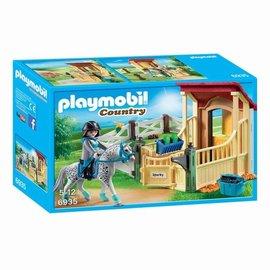 Playmobil Playmobil - Appaloosa met Paardenbox (6935)