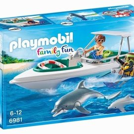 Playmobil Playmobil - Duiktrip met plezierboot (6979)