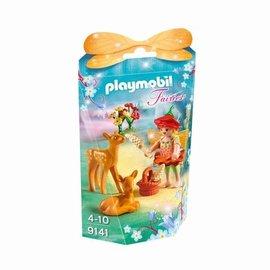 Playmobil Playmobil - Elfje met hertenkalfjes (9141)
