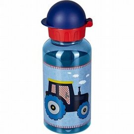Drinkfles tractor blauw Little Friends (0.4 liter)
