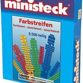 Ministeck Ministeck Kleurenstrips-assortiment. ca. 9500 stukjes