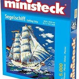 Ministeck Ministeck Zeilschip. ca. 5000 stukjes