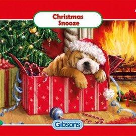 Gibsons Gibsons puzzel Christmas Snooze (150 stukjes)