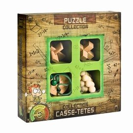 Breinpuzzel set junior hout