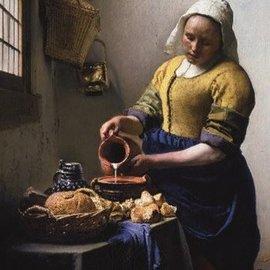 Puzzelman Het melkmeisje - Johannes Vermeer (1000 stukjes)