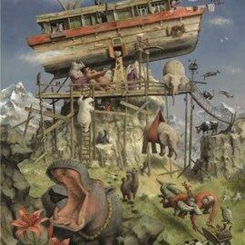 Art Puzzel Marius van Dokkum puzzel - Ark van Noach (1000 stukjes)
